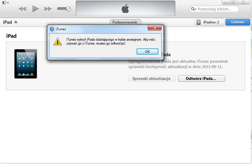 jak podłączyć iPada do iTunes?